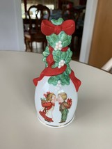 1989 Avon Children Kissing Christmas Bell Source of Fine Collectibles Go... - $14.99