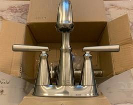 American Standard Edgemere Centerset Bathroom Faucet Nickel w/ Drain 701... - $164.50