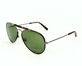Michael Kors Grant Unisex Sunglasses MKS168 206 Havana/Green Lens Aviator 58mm - $76.63
