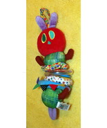 Baby Developmental Rattle-Stretch Toy Eric Carle Plush Hungry Caterpillar - $7.79