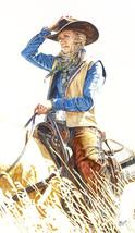 "AMERICAN COWGIRLS DECOR ART - Signature Series Giclee Print - "" JESSICA ""  - $195.00"