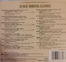 Best Of Sunday Morning Classics Cd image 2