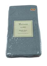 Maison One Valance Mineral Blue Green 60W X 14L Top Window Treatment Cha... - $19.79