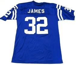 PUMA NFL Indianapolis Colts #32 Edgerrin James Blue Jersey Men's Size Large - $59.35