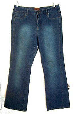 Lee Blue Jean Denim Flare Leg Jeans Sz 13/14