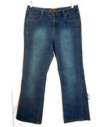Lee Blue Jean Denim Flare Leg Jeans Sz 13/14 - $23.74