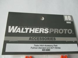 Walthers Proto Stock # 920-6060 Trailer Hitch Accessory Pack PS & ACF Hitches HO image 8