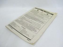 Kenmore 110.26002010 Washing Wash Machine Washer Technician's Manual W10... - $23.33