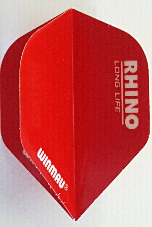 Winmau Rhino Red Standard Dart Flight - $1.36