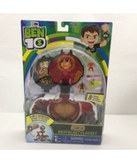 Ben 10 Micro Heatblast Playset w/ 2 Figures! 2-IN-1 Omnitrix, Cartoon Ne... - $35.99