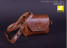 Nikon Mirrorless Camera Bag Case genuine camera shoulder Artificial Leather PU image 1