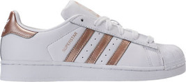 Women's adidas Superstar Casual Shoes White/Cyber Metallic CG5463 WHT - $117.71