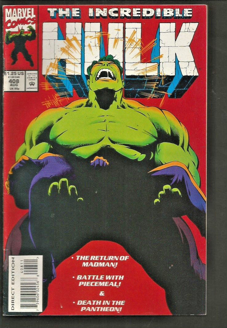 The INCREDIBLE HULK #408 MARVEL Comics 1993 High Grade