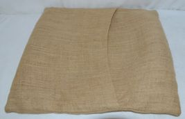 Kate Winston Pillow Burlap Cover Plus Home On The Range Wrap image 8