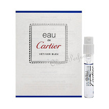 Cartier Eau de Cartier Vetiver Bleu (Unisex) EDT Vial Sample Spray 0.05oz - $4.89