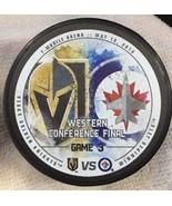 T Mobile Vegas Golden Knights Winnipeg Western Conference Finals Game 3 ... - $39.59