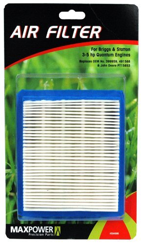 Maxpower 334305 Air Filter for 3.5 - 5 HP Quantum Engines Replaces Briggs & Stra
