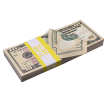 $1,000 New Series Full Print Prop Money Stack - $13.99
