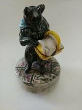 Schmid Hand Painted Vintage Music Box - Beatrix Potter Duchess - Excellent - $59.99