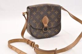 LOUIS VUITTON Monogram Saint Cloud PM Shoulder Bag M51244 LV Auth sa1775 - $378.10