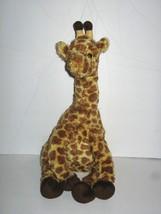 "Ty Classic Giraffe Hightops Safari Plush Beanie Toy 2010 14"" Tan Brown S... - $2.45"