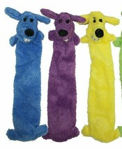 "NEW Multipet LARGE 18"" UNSTUFFED Loofa Dog Plush Squeaky Pet Toy (Choose... - $12.26 CAD"