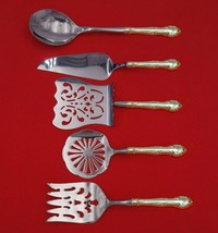 English Gadroon by Gorham Sterling Silver Brunch Serving Set 5-Piece Custom Made - $359.00
