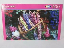 "Puzzle Bounty of Blooms Encore 500 Piece Puzzle 10 3/4"" x 18"" - $6.92"