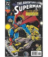 The Adventures of Superman Comic Book #509 DC Comics 1994 NEAR MINT NEW ... - $3.50