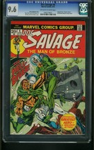 DOC SAVAGE #4 1973-CGC GRADED 9.4-DEATH IN SILVER-FROGMAN COVER 9.6 1052... - $175.81