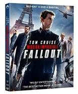 Mission: Impossible - Fallout  [Blu-ray + DVD + Digital]  - $19.95