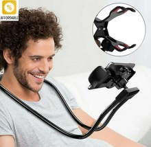 360 Degree Phones Holder Stand Flexible Mobile Phone Holder Hanging Neck... - £8.85 GBP