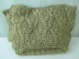 The Sak Tan Macrame Shoulder Bag Hobo - $28.04