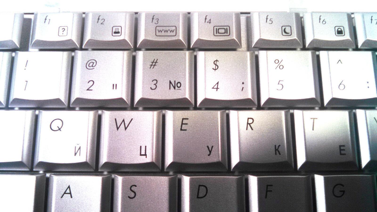 New OEM HP Pavillion DV5-1000 Keyboard 488590-001 US Silver