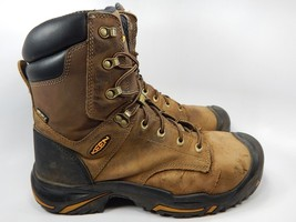 "Keen Mt. Vernon 8"" Steel Toe Men's Work Boots Shoes Size US 10 M (D) EU 43 Brown"