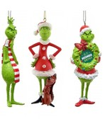 Dr. Seuss Kurt Adler The Grinch Christmas Ornaments New In Boxes 2019 Edition - $15.00