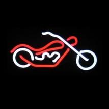 """Chopper II Motorcycle Neon Sculpture Bar Sign Wall Decor  8"""" x 14"""" - $89.99"""