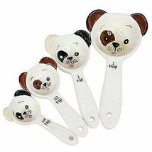 Ebros Loveable Puppy Dog Ceramic Measuring Spoon Set of 4 Creative - €15,10 EUR