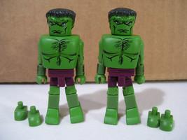 Lot Marvel Avengers The Incredible Hulk Minimates Figures 2008 Diamond Select - $8.77