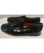 Ricco Italian Leather Black Mens Size 9 Dress Shoes - $50.00
