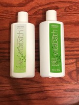 NEW Vitabath Original Spring Green Lotion And Shower Gel Set - $42.99