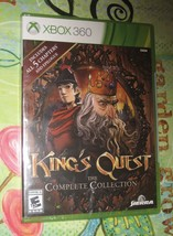 KING'S  QUEST THE COMPLETE COLLECTION - XBOX 360  - NEW IN SEALED WRAP - $27.72