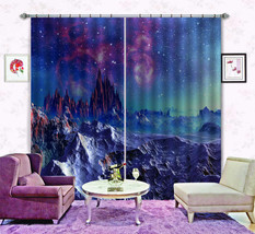 3D Exoplanet 19 Blockout Photo Curtain Printing Curtains Drapes Fabric Window CA - $147.54+
