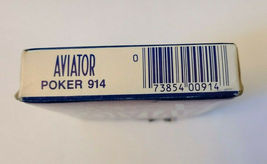 Blue Aviator Poker 914 Deck of Playing Cards   (#015) image 4