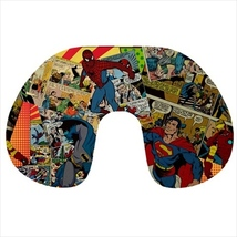Travel neck pillow inflatable superman batman spiderman - $20.00