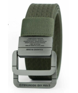Military Style Tactical Belt for Men Heavy Duty Double Ring Buckle Thick... - $18.14