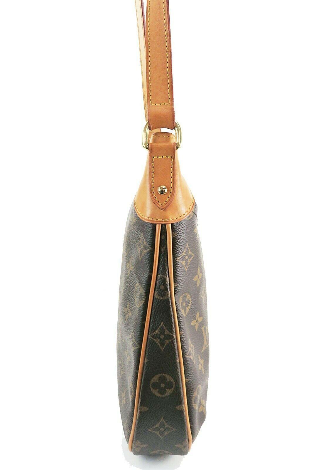 Authentic LOUIS VUITTON Odeon PM Monogram Shoulder Tote Bag Purse #32145 image 5