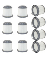 10-Pack HQRP Washable Filter for Black & Decker Pivot Hand Vac Vacuums, ... - $76.45