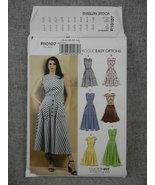 Misses 6-14 Summer Dress Vogue R10107 / Vogue V9357 Custom fit for A-D c... - $25.00