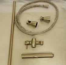Delta 57085 Grail Champagne Bronze Modern Handheld Showerhead w/ Slide Bar *NEW* - $225.00